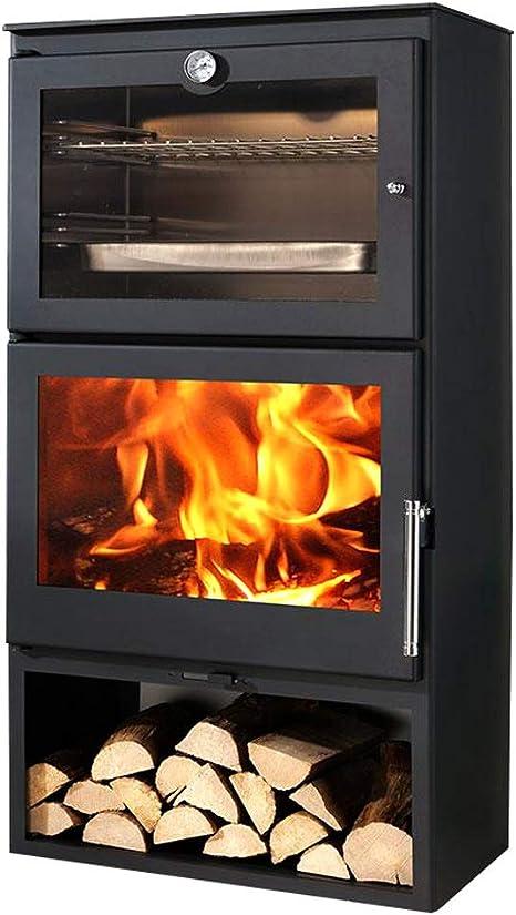 Chimenea EEK A+ con compartimento de horno, modelo Panadero ...