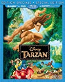 Tarzan [Blu-ray + DVD + copie numérique] (Bilingual)