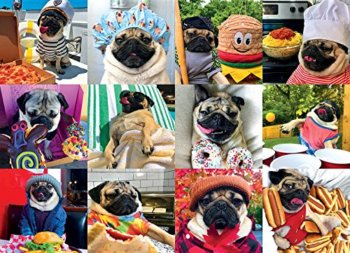 (Doug the Pug Pug Life 1000-Piece Puzzle)
