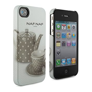 Carcasa iPhone 4S - Colección NAF NAF Paris - Tetera: Amazon ...