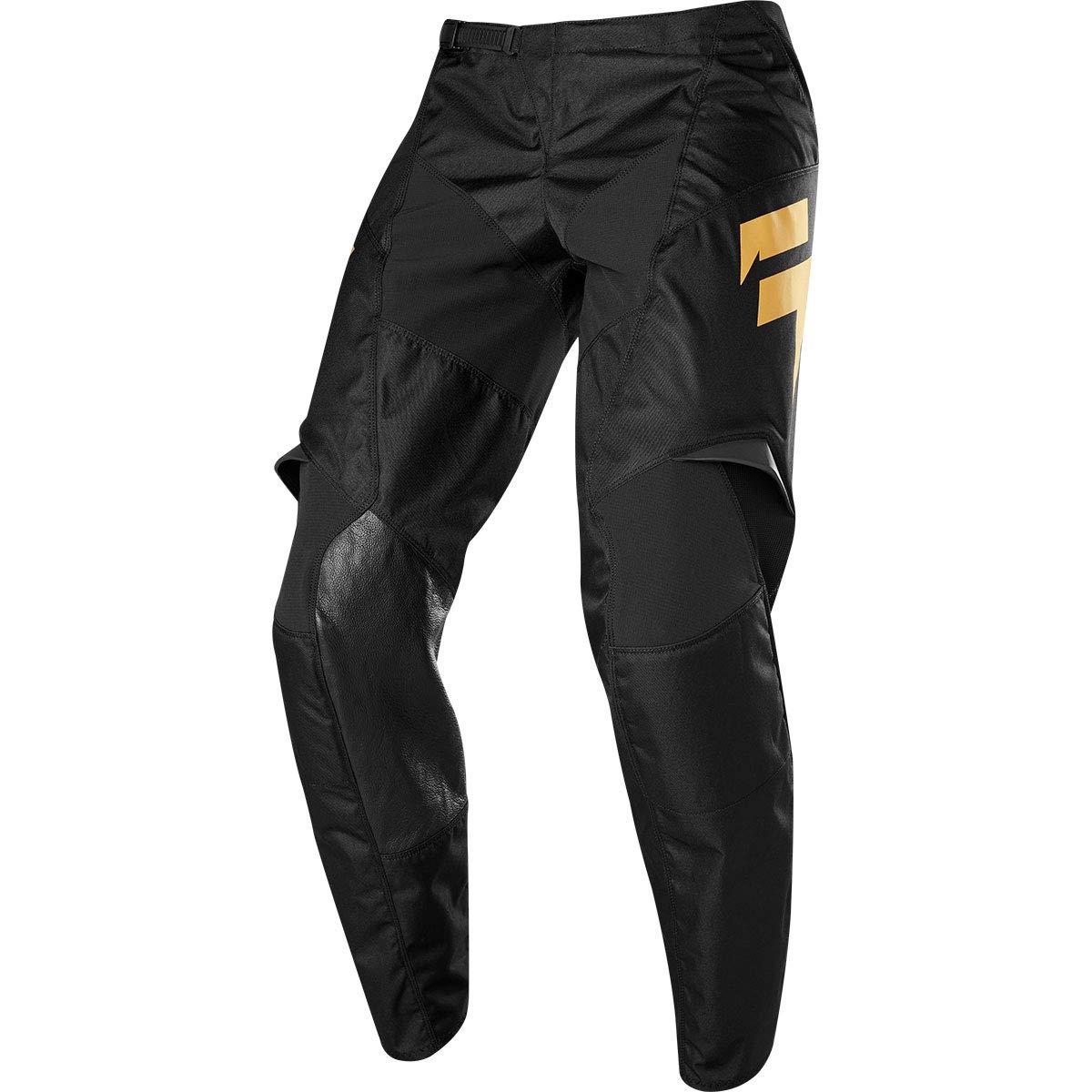 Shift Racing Whit3 Label Muerte LE Mens Off-Road Motorcycle Pants Black//Gold 38