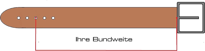 Damengürtel aus Leder 2,0cm | Schmaler Damen-Gürtel in 20mm | Stylischer Ledergürtel in vielen modischen Farben | Made in Italy Violett