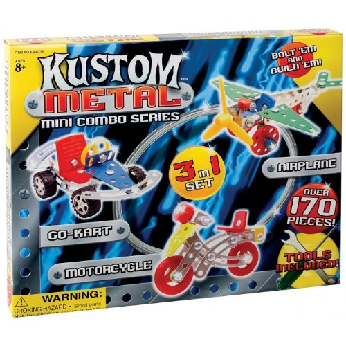 Kustom Metal - Toysmith Kustom Metal 3 in 1 Set