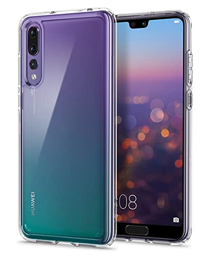 new style 22a3b 2c299 Spigen Ultra Hybrid Designed for Huawei P20 Pro Case (2018) - Crystal Clear