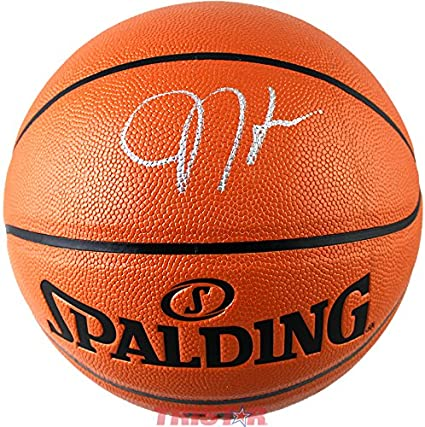 bfbfd8a510d Image Unavailable. Image not available for. Color  James Harden Signed  Autographed Indoor Outdoor NBA Game Ball ...