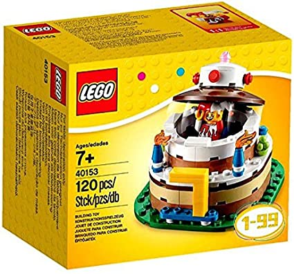Image Unavailable Not Available For Color LEGO Birthday Decoration Cake Set 40153