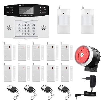 Sistema de Alarma gsm/SMS LCD Pantalla de en Castellano Teclados ...