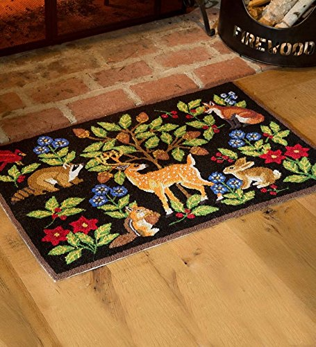 Price Tracking For Hooked Wool Woodland Animals Rug