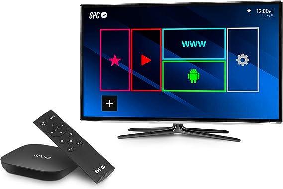 SPC Smart TV Alien 9207108N- Dispositivo software para TV, Android 4.4, color negro: Spc: Amazon.es: Electrónica