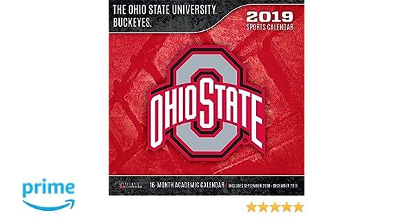 Ohio University Academic Calendar.The Ohio State University Buckeyes 2019 Calendar Lang Holdings Inc