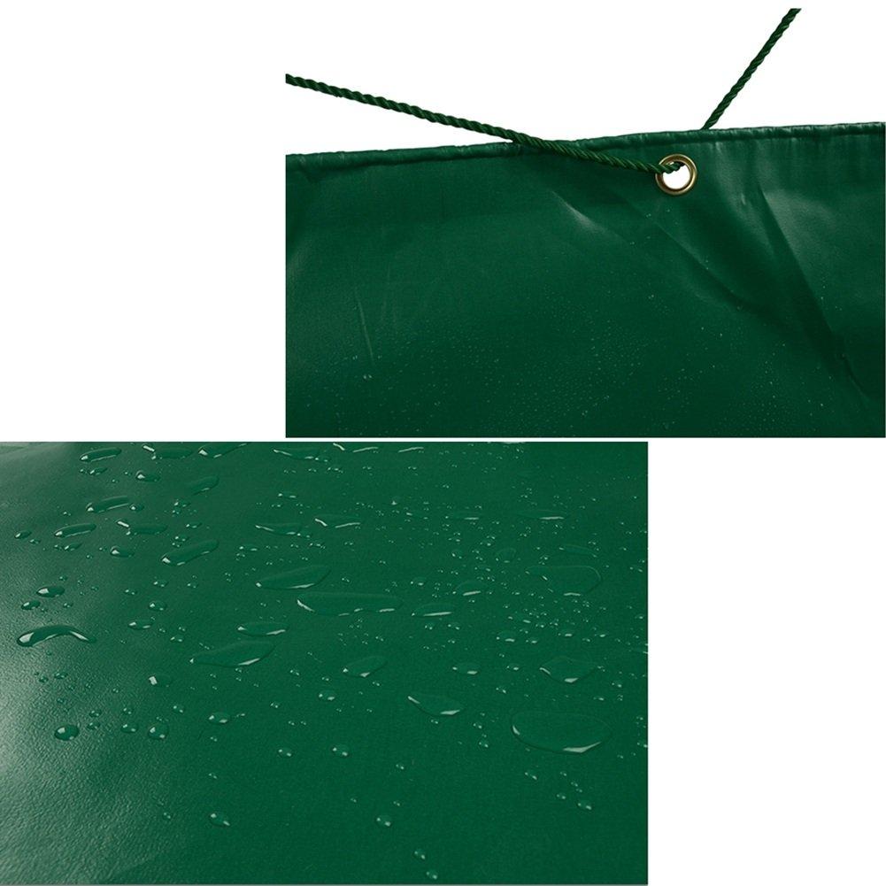 AJZXHE Abdeckungs-LKW-Regenproofschutzplanenladung schützender Hallenstoff-Zeltstoff Anti-korrodierend Anti-korrodierend Anti-korrodierend Anti-Altern, grün -Plane B07FDH9HLL Abspannseile Ein Gleichgewicht zwischen Zähigkeit und Härte d93a51