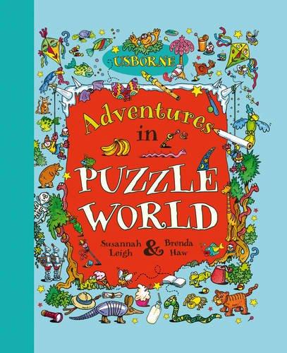 Adventures in Puzzle World (Usborne Young Puzzles) by Usborne Books