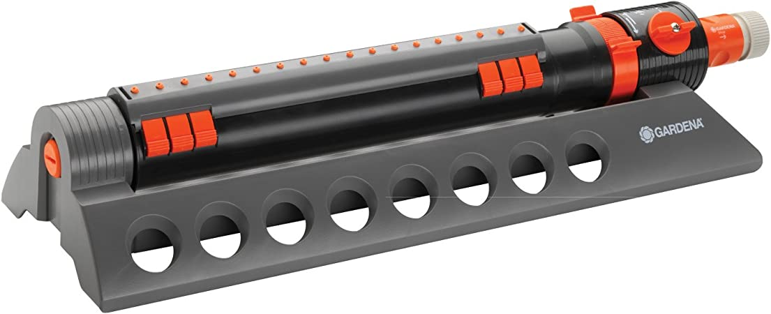 2 Pack Gardena Comfort AquaZoom Oscillating Sprinkler with Adjustable Controls