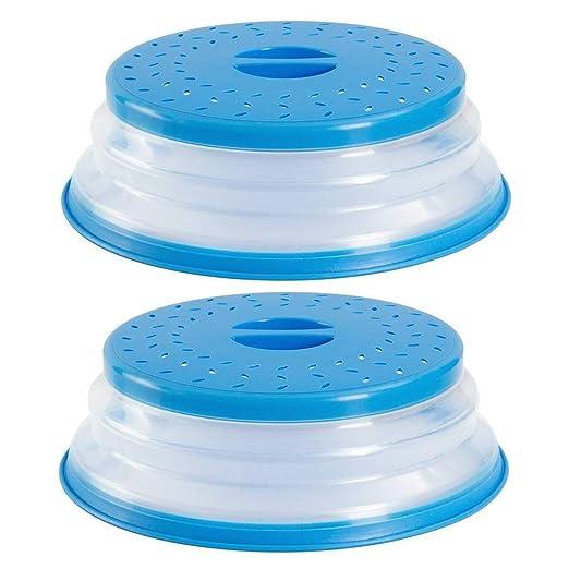 Tapa para microondas Silicona con orificios de Ventilación ...