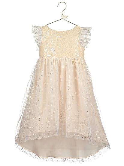 Amscan Dress Up Tinker Bell Sparkle Dress Vestido Dorado