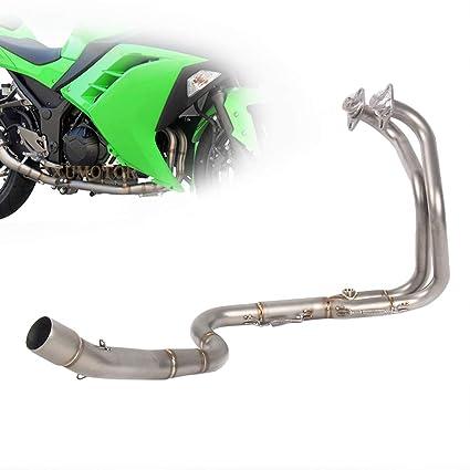 Zaixu - Sistema de escape para motocicleta (conexión frontal ...