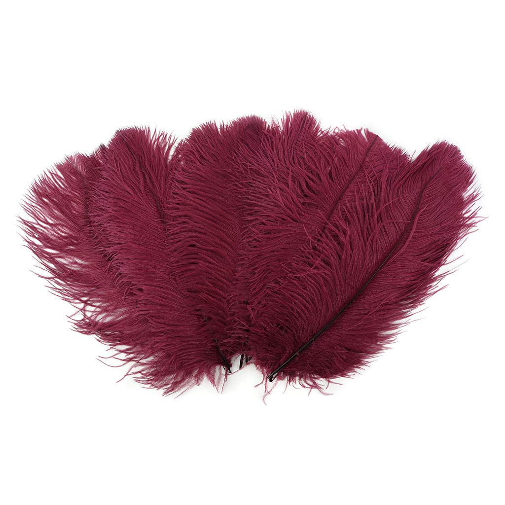 13-16 inch Amethyst Purple Ostrich Feathers for Centerpieces- Wedding Decorations- Feathers for Crafts 12 pieces
