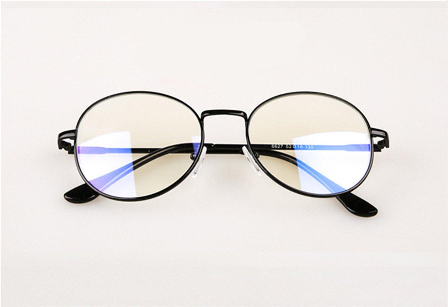 SMX Gafas Neutras para/Eliminan la Fatiga y la Irritación Visual/Gafas Anti LUZ Azul y UV para Pantalla/Filtro luz Azul de Descanso para pcGafas ...