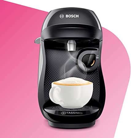 Bosch TAS1002 TASSIMO Happy Cafetera de cápsulas, 1400 W, color ...