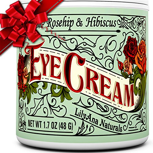 Eye Cream Moisturizer (1oz) 94% Natural Anti Aging Skin Care