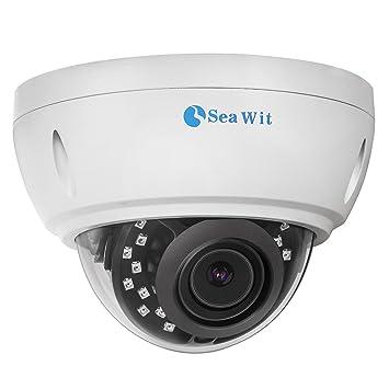 Sea Wit 5 megapíxeles Poe Cámara IP Domo de Vigilancia Interior / Exterior, Full HD