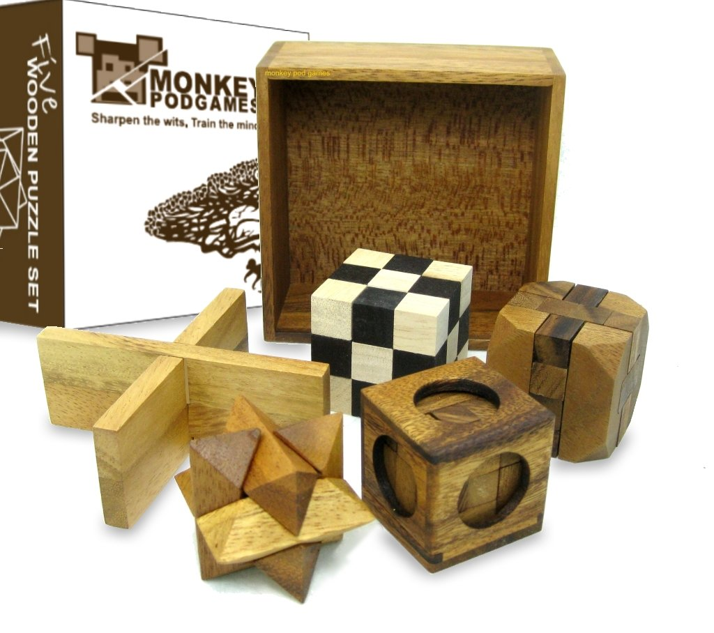 Amazon.com: Five Puzzles in a Tricky Box - Gift Set - 5 Great ...
