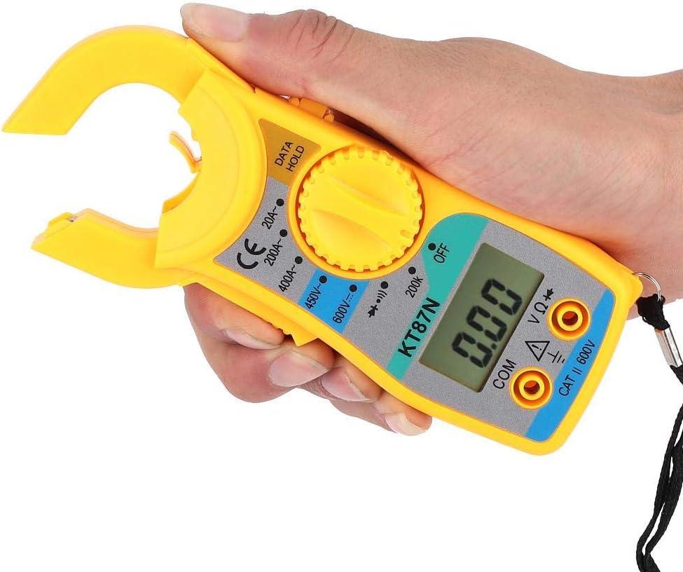 Pinza Amperometrica ANENG KT87N Multimetro Digitale a Pinza 1999 Conta Tester di Resistenza AC Volt