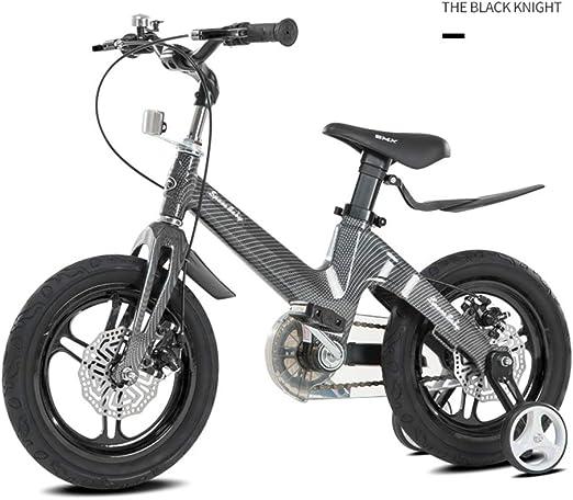 SJSF Y Bicicleta Infantil Niño Y Niña | 12 Pulgadas con Ruedines Y ...
