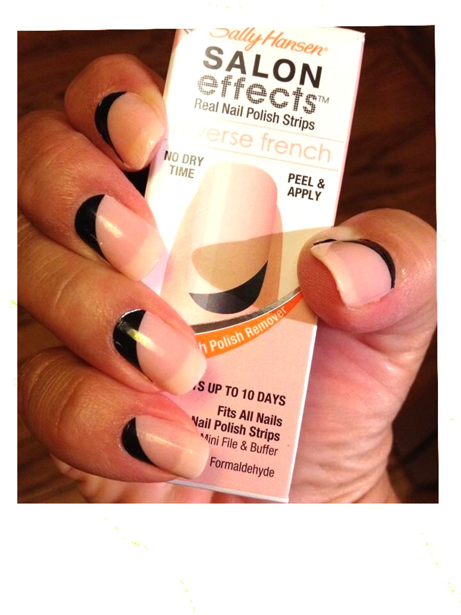 Buy Lot Of 10 Sally Hansen Salon Effect Real Nail Polish Strips ...