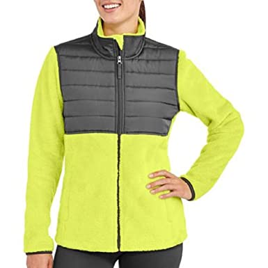 f08c49f8c39 Image Unavailable. Image not available for. Color  Faded Glory Women s  Sport Fleece Zipper Jacket ...