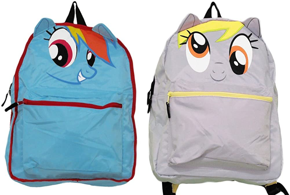 My Little Pony Derpy Hooves / Rainbow Dash Reversible Backpack Bookbag