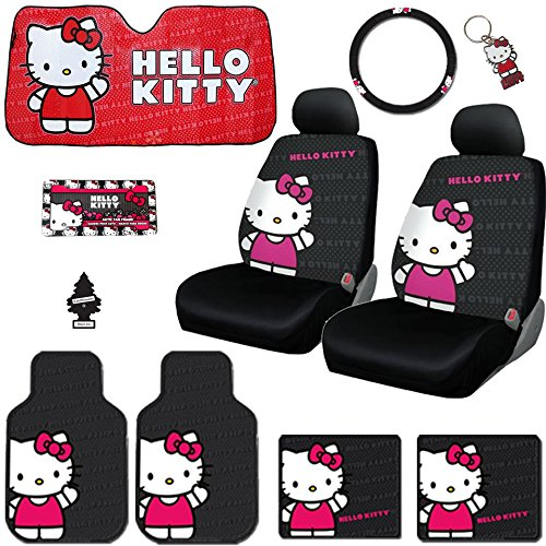 hello kitty car accessories kit - 1