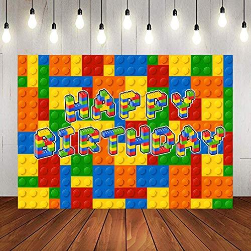 LYLU1151 - Fondo para fotografía de ladrillos coloridos para ...