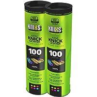 KNIXS Kniklichten incl. 200x 2D, 4X cirkelverbinder, 4X 7-gaats connector in 6-kleuren-mix, in professionele kwaliteit…