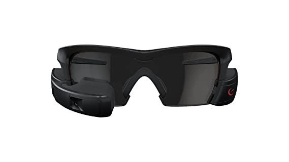 a8ab177b31c Amazon.com  Recon Jet Smart Eyewear for Sports and Fitness - Black  Cell  Phones   Accessories