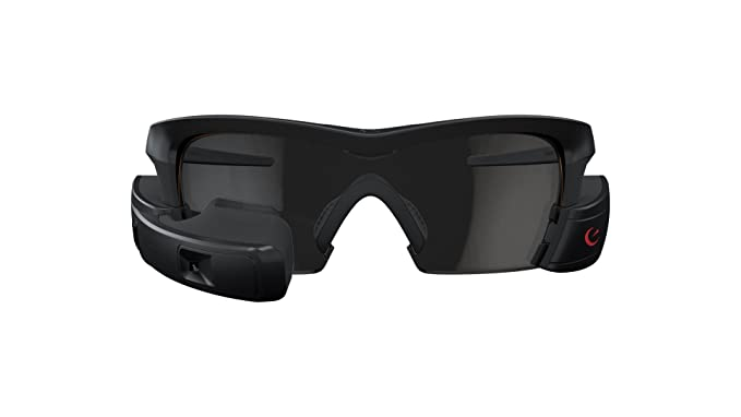 b4f984aabd Amazon.com  Recon Jet Smart Eyewear for Sports and Fitness - Black ...
