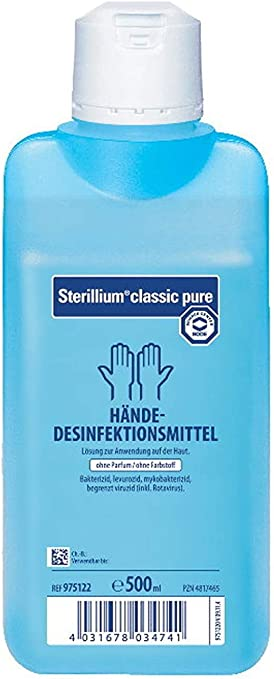 2 X 500 Ml Sterillium Classic Pure 1 X Medi Inn Dosierpumpe