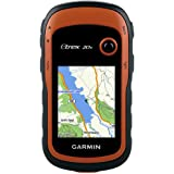 Garmin 010-01508-05 eTrex 20x Outdoor Handheld GPS Unit with TopoActive Western Europe Maps, Black/Orange
