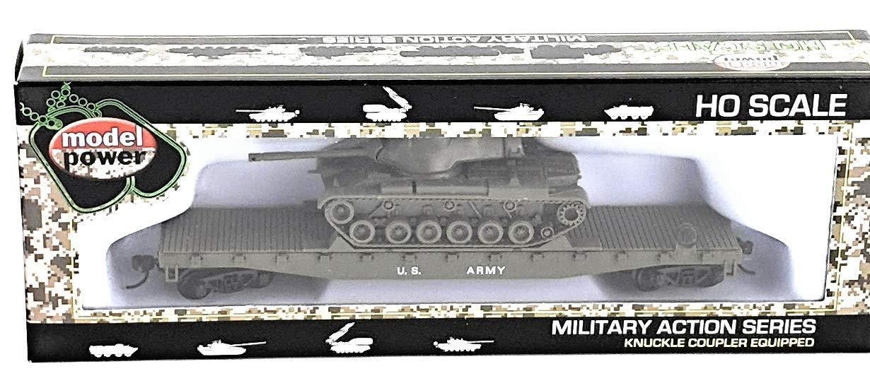 HO Flat/Patton Tank, US Ar