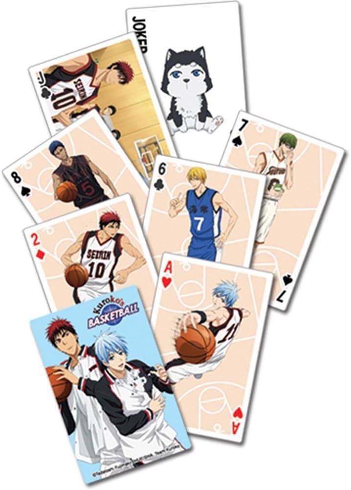 Juego de cartas – Kuroko de baloncesto Nueva Poker juego juguetes ...