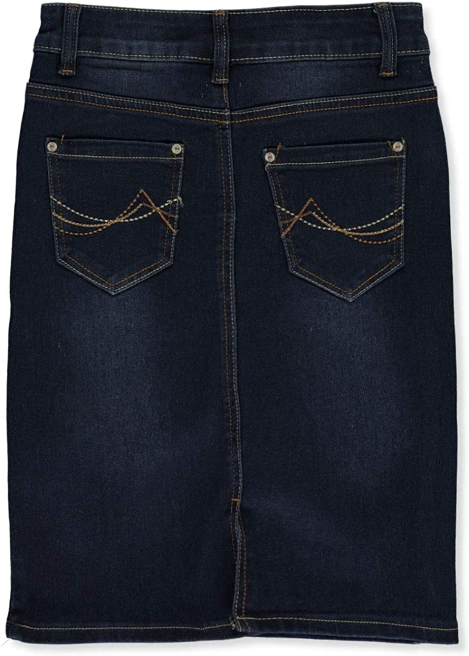 Ailis Girls Stitched Denim Pencil Skirt Ko.Ko