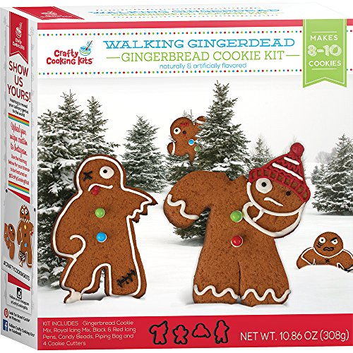 Crafty Cooking Kits Walking Gingerdead Gingerbread Zombies 10.86 Ounce 1 -
