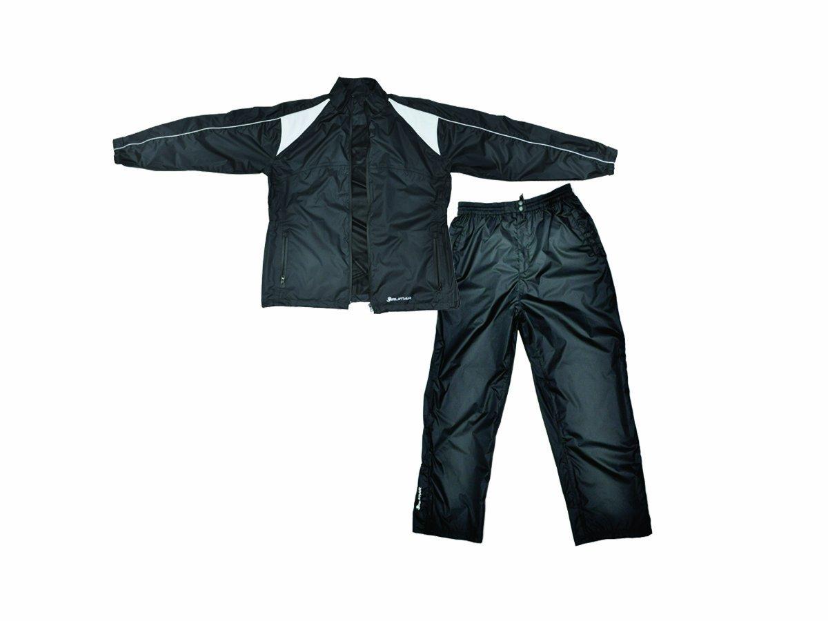 Orlimar Men's Cyclone Black Rain Suit (Medium)