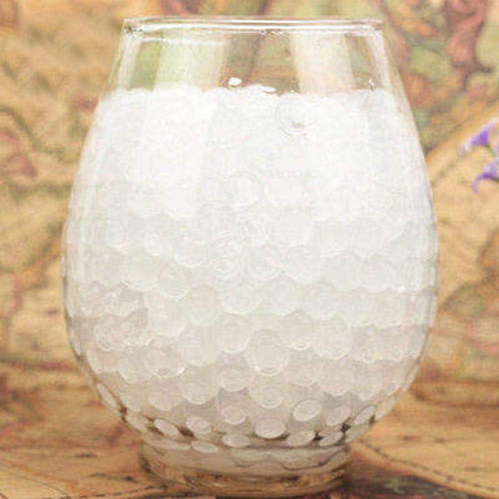 Barley33 500 Piezas de Agua Planta Flor gelatina Cristal Suelo Barro Gel Suelo Cristal expansible Perlas Coloridas Perlas de Agua Perlas de Gel Bolas decoraci/ón florero Cristal