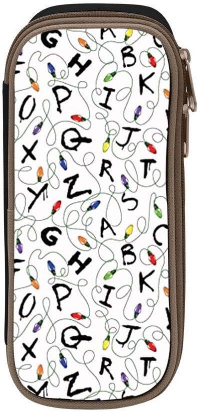Estuche para lápices Stranger Things para estudiantes, gran capacidad y duradero: Amazon.es: Oficina y papelería