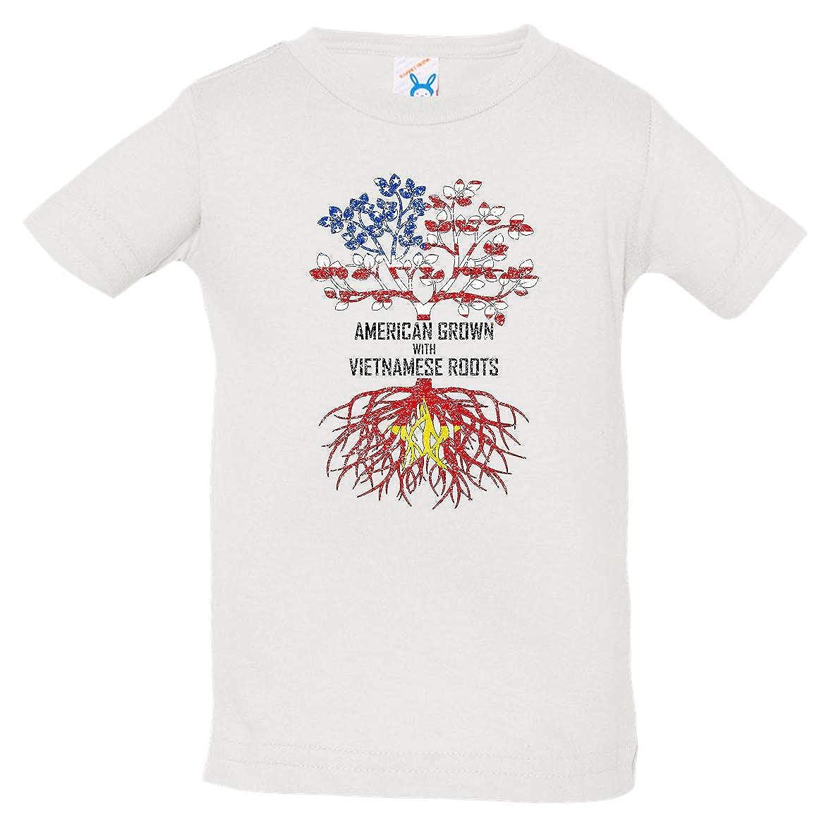 Tenacitee Babys American Grown with Vietnamese Roots Shirt