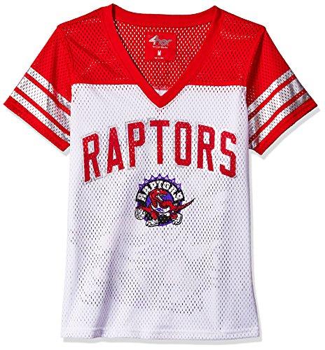 - GIII For Her NBA Toronto Raptors Women's All American Mesh Tee, XX-Large, White