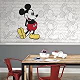 RoomMates Mickey Mouse - Classic Mickey Prepasted, Removable Wall Mural - 6' X 10.5'