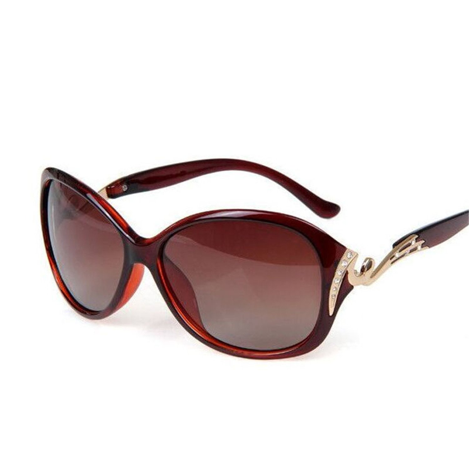 Amazon.com: COOCOl 2018 Fashion Sunglasses Women Luxury Sun Glasses Gafas Polarizadas Feminino M088 Leopard: Clothing