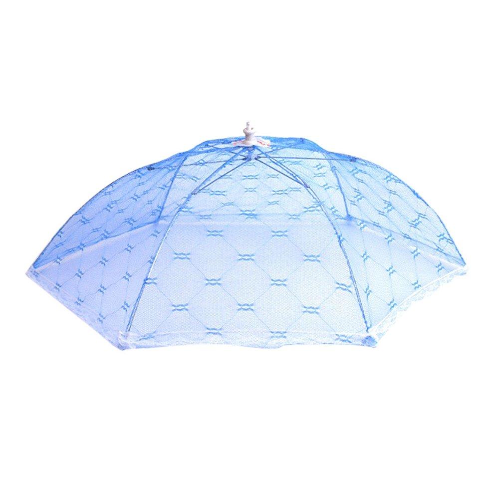 OUNONA 3 Pack Mesh Sieb Essen Regenschirm Abdeckung Netzabdeckung Lebensmittel